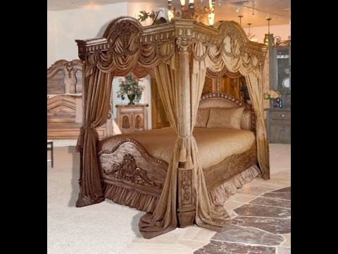 Bedroom Sets  Queen Canopy Bedroom Sets