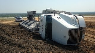 Stuck Compilation: Construction Equipment Accidents/Fails and Truck Crashes