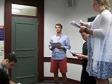 Ali Salem's Oedipus performed by my English 270 magnificent students