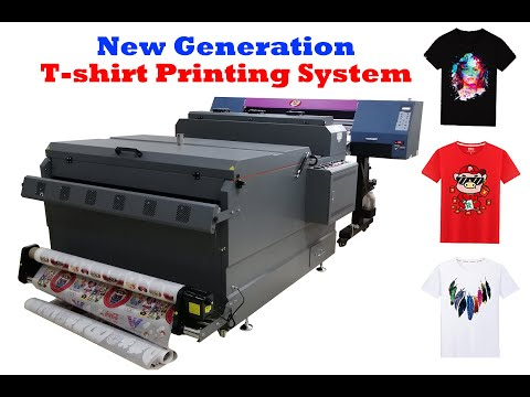 New Generation Heat Transfer Digital Printing Machine For T-shirt With Cotton/Polyester/Blend