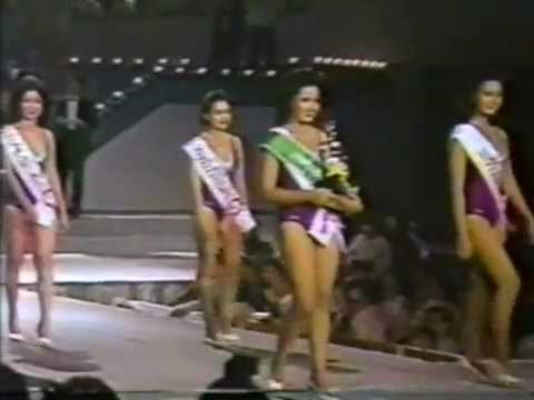 Miss Thailand 1986 - Semifinal and Crowning Moment