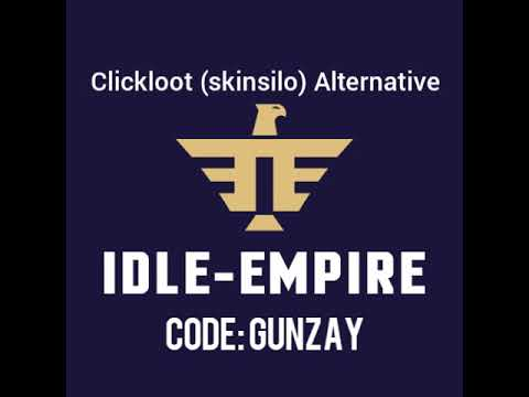 Best Clickloot(Skinsilo) alternative: idle-empire referral code earn Free  skins Easy Peazy