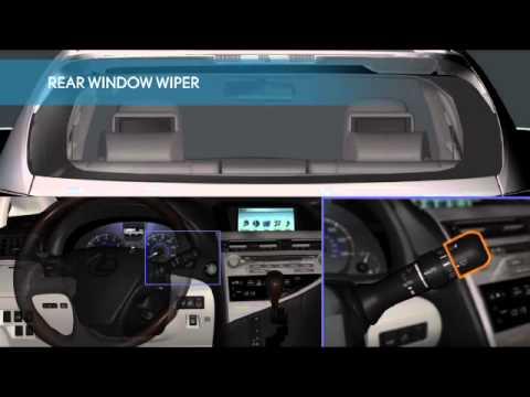 2010-2012 Quick Guide — Lexus Rain Sensing Wipers