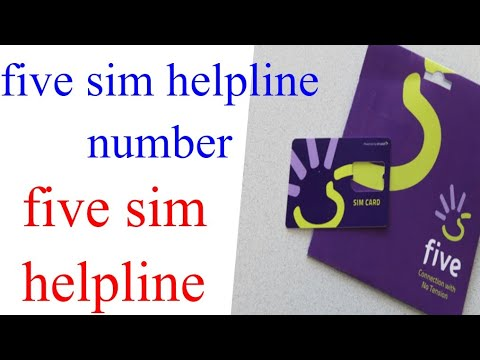 How to call five customer care in UAE | five sim customer care number | five sim helpline number.