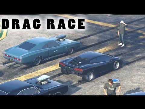DRAG RACING IN GTA 5 ONLINE!