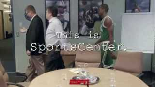 Rajon Rondo Has big hands! Sportscenter Commercial
