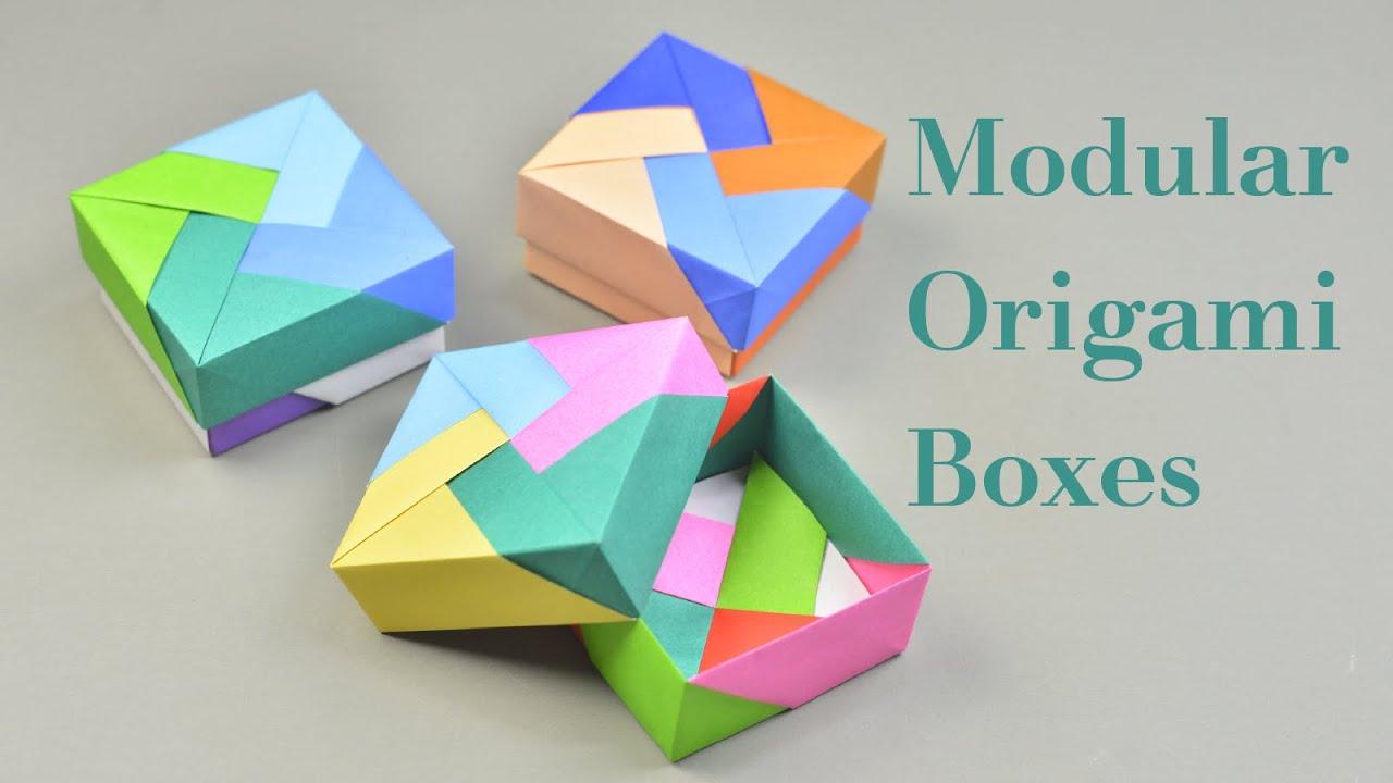 Cool Modular Origami Diagram Car Stereo Wiring Diagrams Free 3 Easy Boxes Tutorial Creative Diy Youtube
