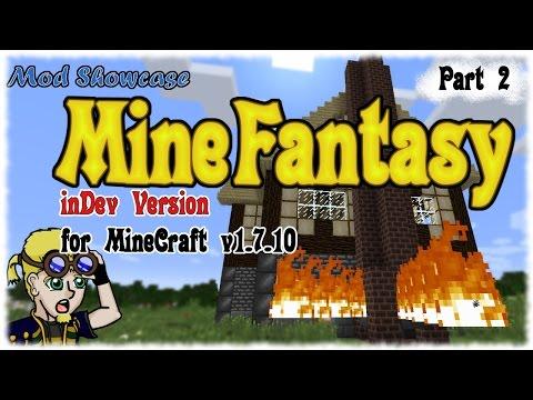 Mod Showcase: Mine Fantasy For MC V1.7.10 - Metals, Bombs, And Combat