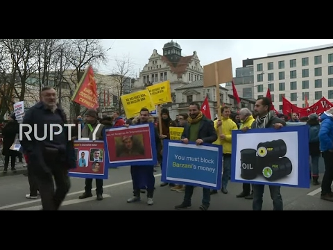 LIVE: Protesters rally in Munich against Munich Security Conference