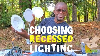 Choosing Recessed Lighting