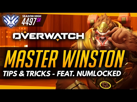 Overwatch | Master Winston ft Numlocked - Advanced Guide