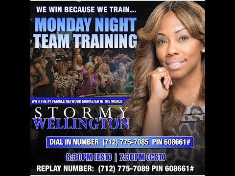 Monday Night Training Call - Post TLC Awards Show w/ Coach Stormy Wellington