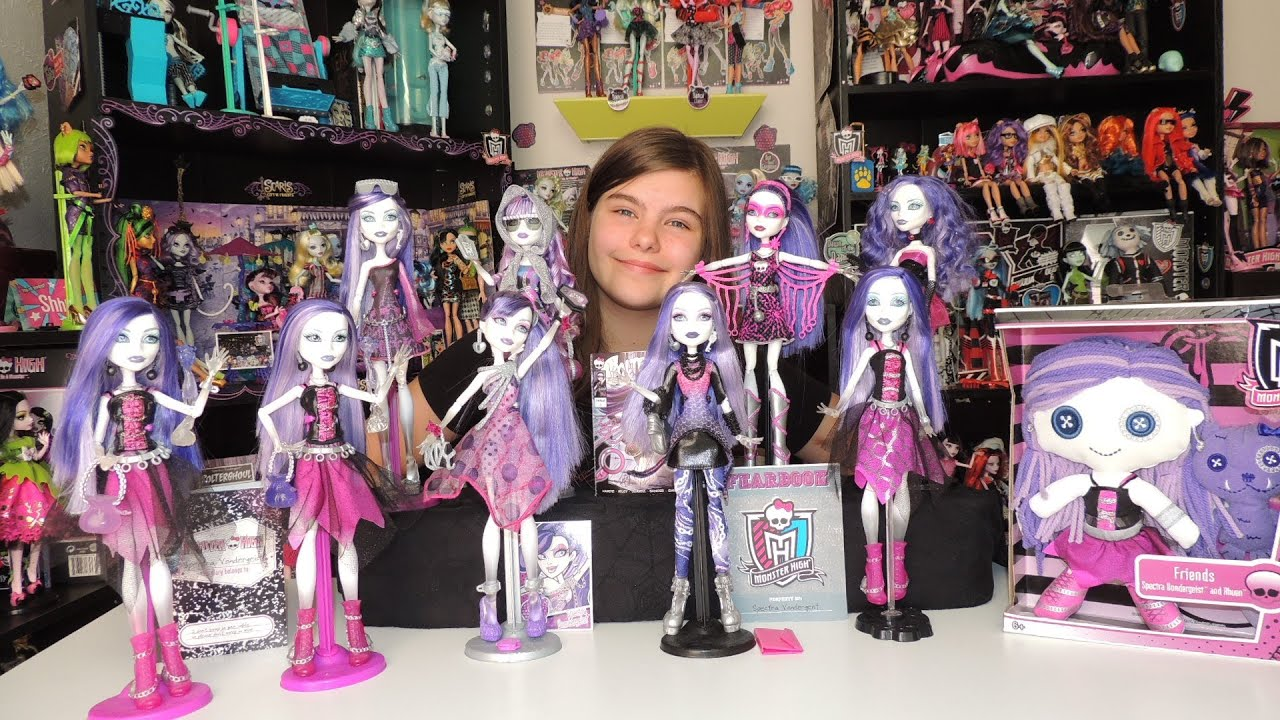 Uncategorized Monster High Spectra Doll monster high spectra vondergeist doll collection by wookiewarrior23 youtube