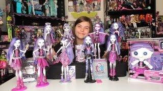 Monster High Spectra Vondergeist Doll Collection By WookieWarrior23
