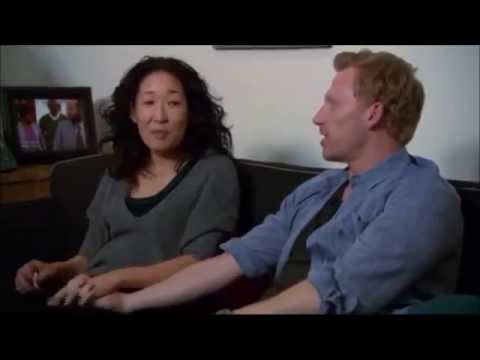 Kevin McKidd and Sandra Oh: Grey's Anatomy Season 10 .