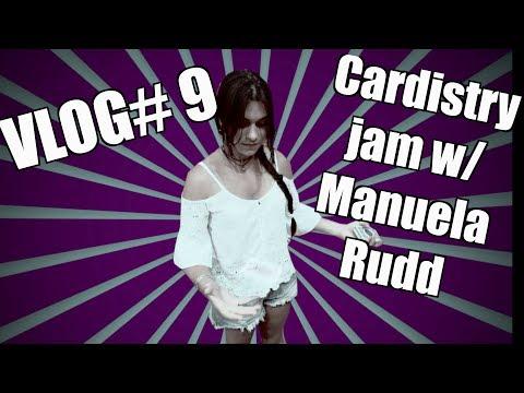 VLOG# 9 - Melbourne Cardistry Jam w/  Manuela Rudd