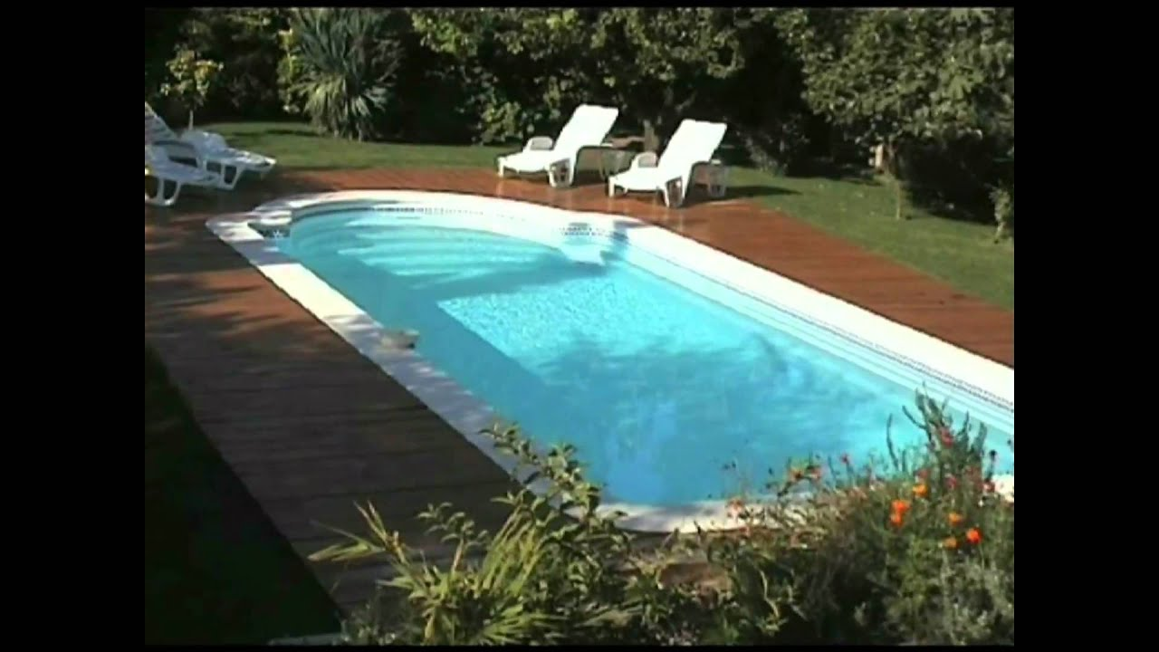 Piscine jupiter coque polyester youtube - Piscine a enterrer coque ...