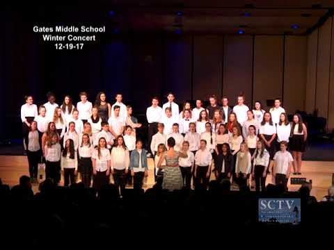 Scituate Community Televison Presents the Gates Middle School Winter Concert 12-19-17