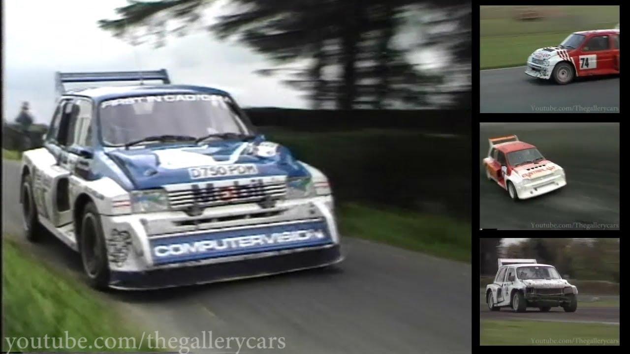 MG Metro 6R4 Rally Car - YouTube