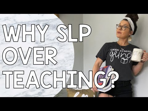 SLP or Teaching? + 5 Things No One Told Me About Grad School
