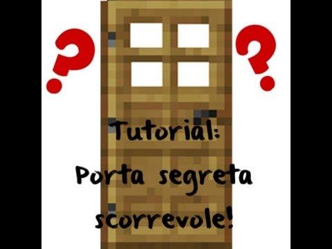 Come creare una bella porta segreta scorrevole su - Costruire porta scorrevole ...