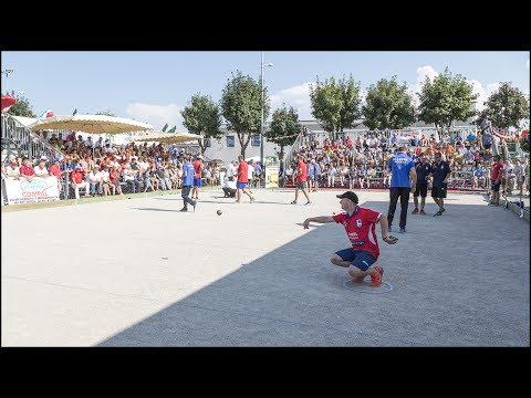 Petanque - Campionati Italiani Coppie 2017 - Centallo (Cn)