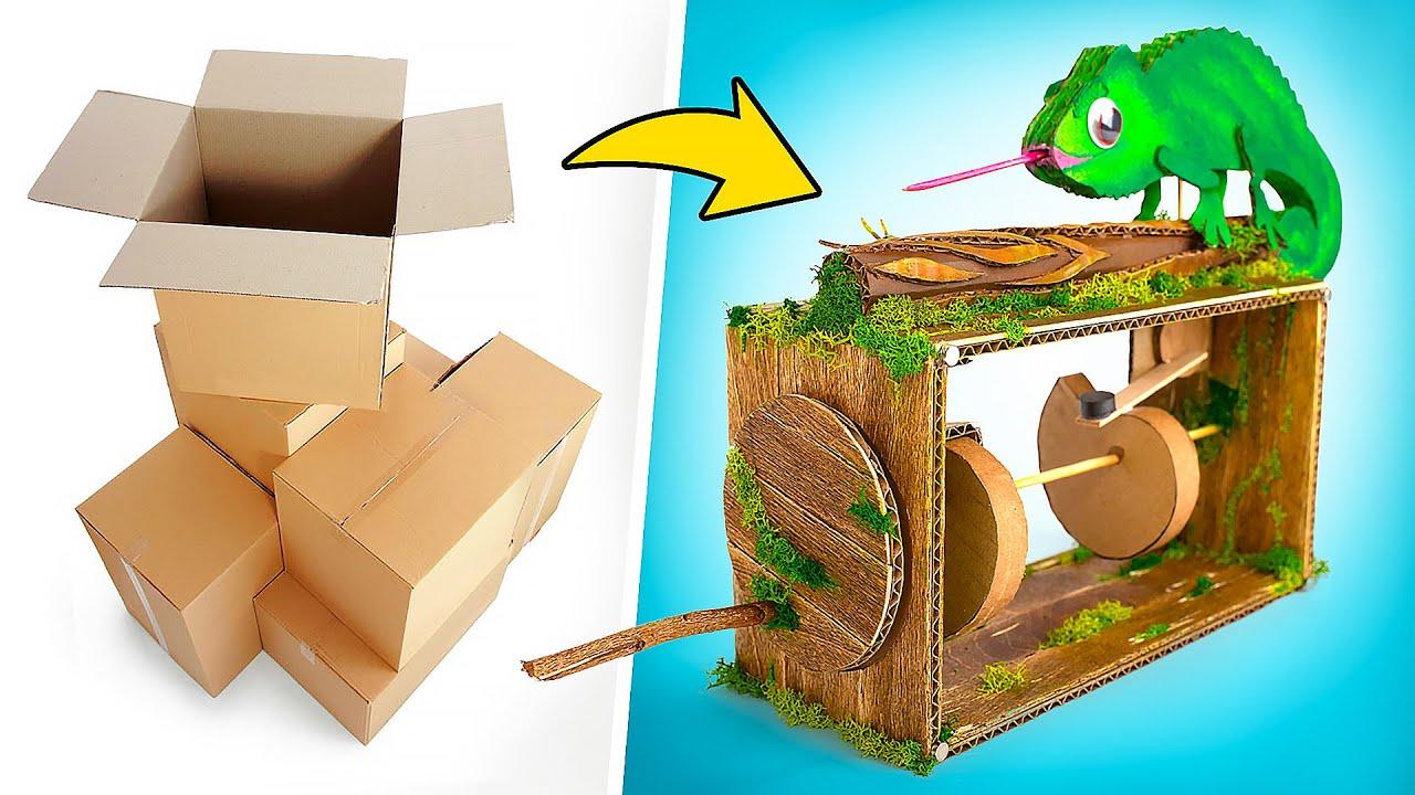 Automata Chameleon Anti Stress Toy DIY