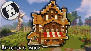 Minecraft: Medieval Butcher s Shop Tutorial! YouTube