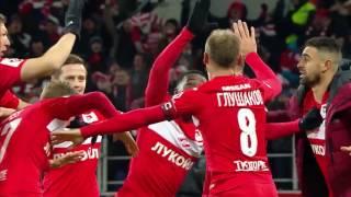 Денис Глушаков — автор лучшего гола «Спартака» в сезоне-2016/2017!