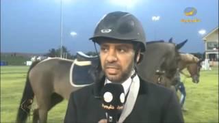 الفارس مشاري الحربي يفوز بشوط الفئة الكبرى باليوم النهائي لبطولة كأس شهداء الوطن في نوفا