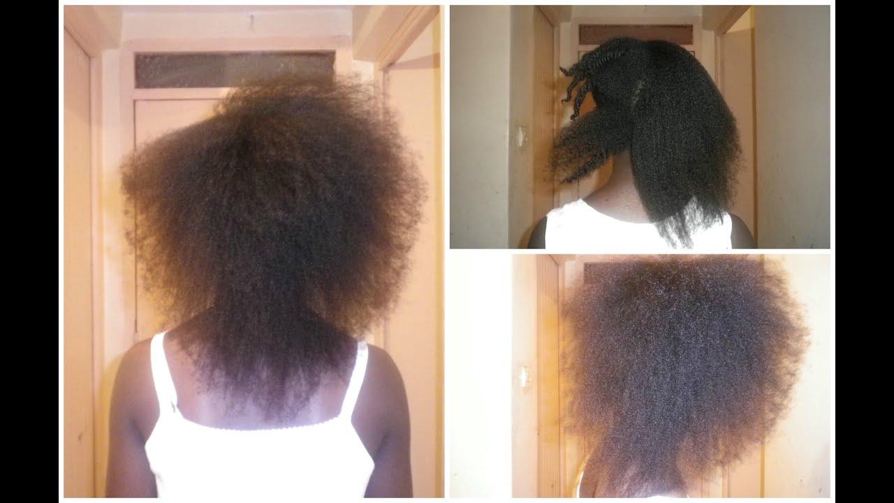 Comment je me lisse les cheveux cr pus 4c fins youtube - Comment faire un brushing ...