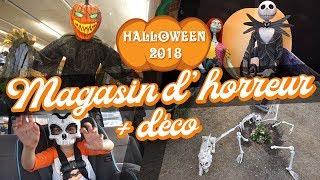 [HALLOWEEN 2018] MAGASIN D'HORREUR + NOTRE DÉCO 💀