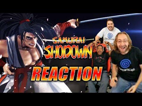 DOODS REACT: Samurai Shodown - Reveal Trailer