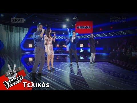 Ο Σάκης και η ομάδα του - Δεν έχει σίδερα η καρδιά σου | Τελικός | The Voice of Greece