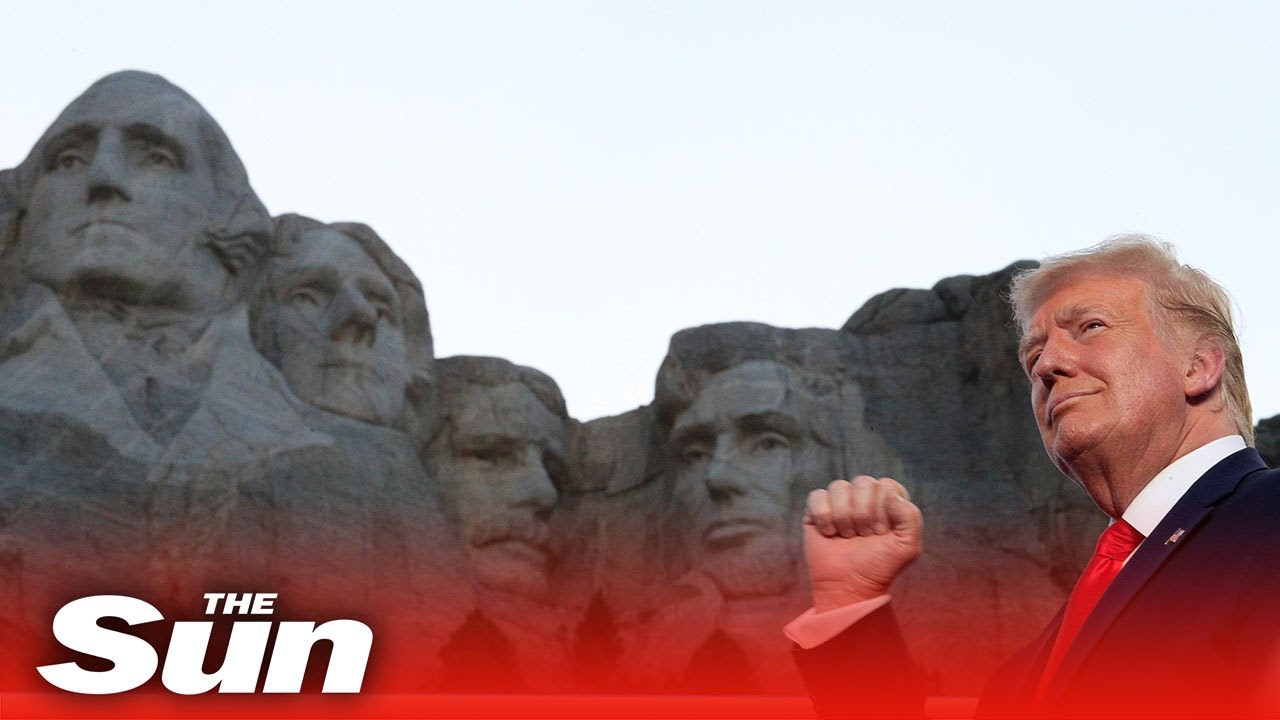 Trump slams protesters in patriotic 4th July speech at Mount Rushmore