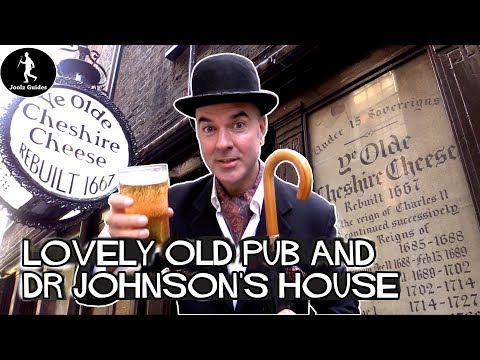London's Best Old Pub - Dr Johnson, Fleet Street And Ye Olde Cheshire Cheese