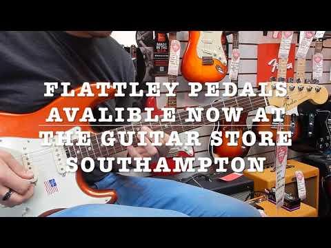 Flattley Guitar Pedal Demo at The Guitar Store Southampton