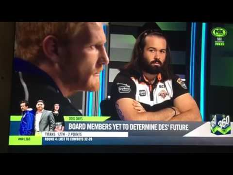 NRL 360 James Graham talks about the loss to Manly
