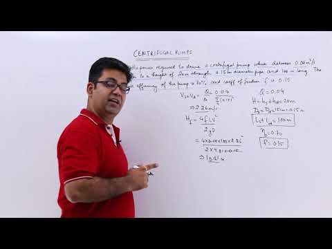 Centrifugal Pumps Problem Example 3