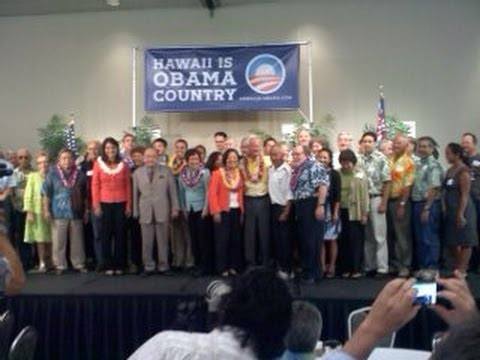KITV - Democrats hold unity breakfast after primary