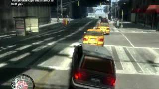 GTA IV pc gameplay on 8400GS Overclocked