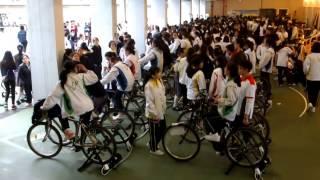 20170226梁式芝書院打破健力士紀錄:8小時踩單車發電/