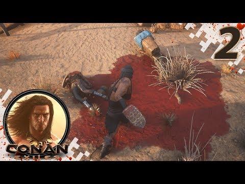 CONAN EXILES (NEW SEASON) - EP02 - New Combat! (Gameplay Video)