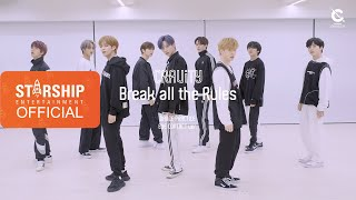 [Dance Practice] CRAVITY (크래비티) - Break all the Rules (Eye Contact ver.)