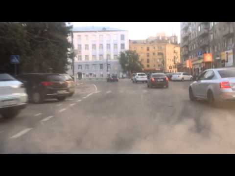Страшная авария на пл.горького