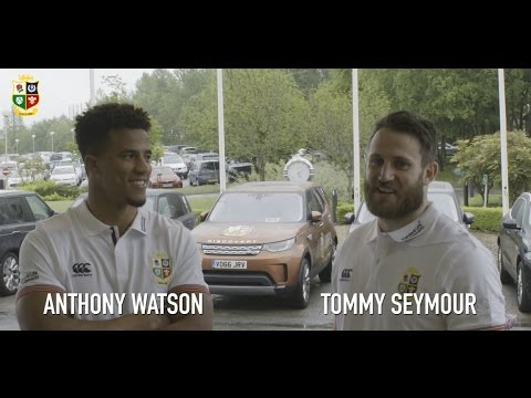 In Camp: Anthony Watson and Tommy Seymour | Lions NZ 2017