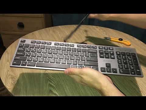 Клавіатура дротова A4Tech KV-300H USB (4711421846707)