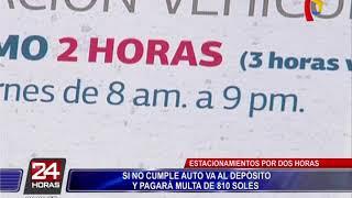 San Isidro: multas en estacionamientos públicos genera preocupación en conductores