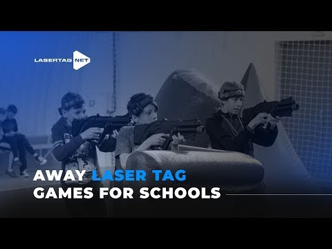 Laser Tag Games In Schools.  Away Laser Tag Tournament!