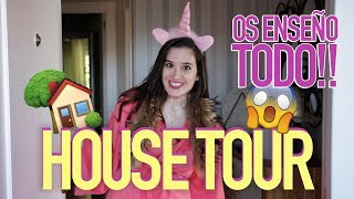 HOUSE TOUR: ENSEÑO TODO - Soy Una Chica Fitness | Living Postureo
